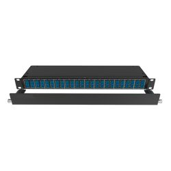 QSFP BREAKOUT PANEL. COPPER PATCH PANEL